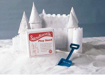 7 Pack SANDTASTIK SANDTASTIK WHITE PLAY SAND 25LB BOX by Sandtastik