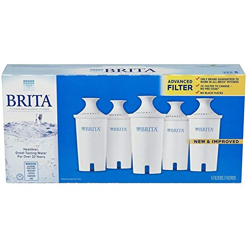 Brita 35516 OB03 Pitcher Replacement Cartridge (5-Pack) by Brita