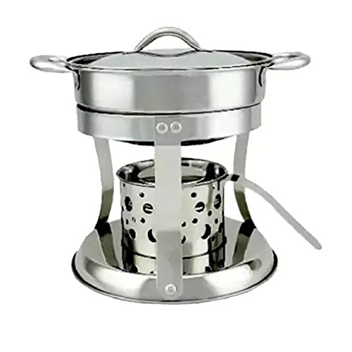 Ezyoutdoot Spirit Stove Alcohol burners spirit burner Portable Stainless Steel Lightweight Wood Stove Solidified Alcohol Stove for Outdoor Cooking Picnic Camping Bivouac (Two Burner Alcohol Stove compare prices)