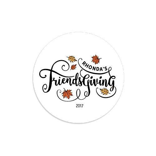 amazon com personalized friendsgiving stickers friendsgiving