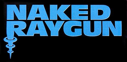 Naked Raygun - Blue Logo on Black - Sticker / Decal