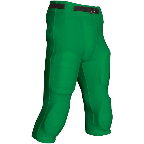 Adult Football Game Pants - Goal Line Poly Spandex Football Game Pant M Kelly Green Adult