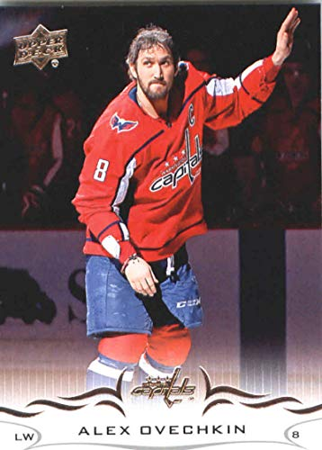 2018-19 Upper Deck #191 Alexander Alex Ovechkin Washington Capitals NHL Hockey Trading Card