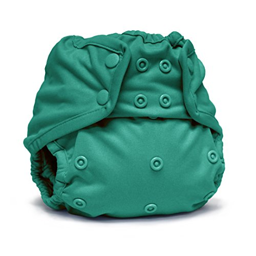 (Rumparooz One Size Cloth Diaper Cover Snap, Peacock)