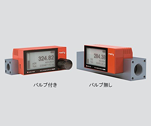 堀場エステック3-5961-02乾電池駆動式マスフローメータGCR-A-500mlO2(バルブ付き)   B07BD2C9PL