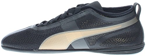 Gold Athletic Shoe Low Women's Puma EVO Black Eskiva PUMA 64qw1Yp