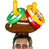 Wembley Inflatable Game Ring Toss Hat Football