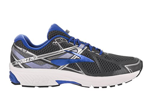 Brooks Ravenna 7 - Zapatillas de Entrenamiento Hombre Anthracite/Electric Brooks Blue/Silver