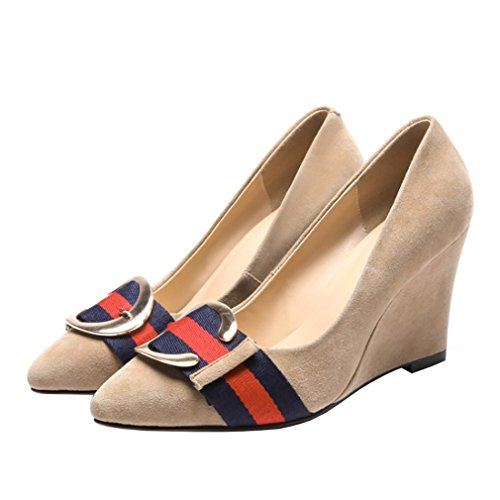 6 Vaneel White Toe Wedge 8 Pointed Shoes Women vadxpg Off UK Court 5 Slip Heel 5CM on Orgw6Oqtx