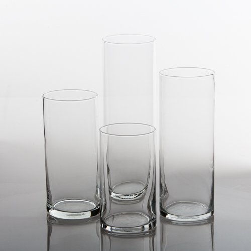 Eastland-Glass-Cylinder-Vases-Set-of-4