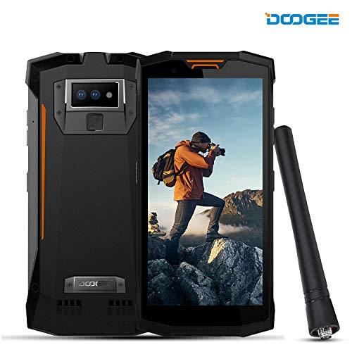 DOOGEE S80 4G Rugged Phone Android 8.1 - Walkie Talkie Interphone 10080mAh 5.99 FHD+ Screen 6GB RAM+64GB ROM 16MP+5MP+12MP Camera - Waterproof Dustproof Shockproof Cell Phone Unlocked - Orange