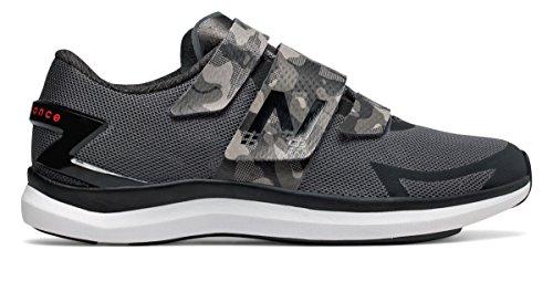拒否略奪爆発物(ニューバランス) New Balance 靴?シューズ レディーストレーニング NBCycle WX09 Grey with Black and Energy Red グレー ブラック レッド US 10 (27cm)
