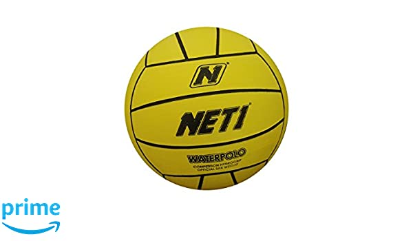 NET1 Competition - Pelota de Waterpolo, Color Amarillo: Amazon.es ...