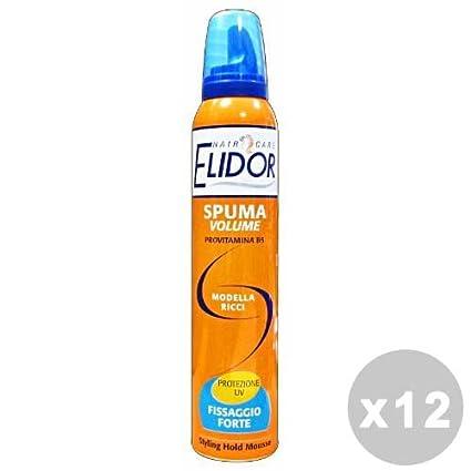 ELIDOR Set 12 ELIDOR Spuma modella ricci forte 200 ml. - spume per capelli 4fe0ed56a402