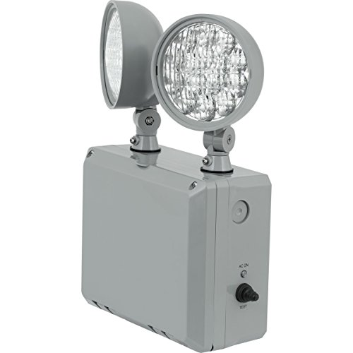 Progress Commercial PE2WL-82 LED Emergency Unit, Gray by Progress Commercial