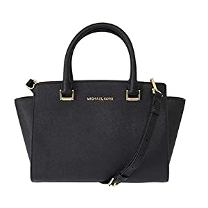 Michael Kors Women's Selma Medium Top-Zip Satchel