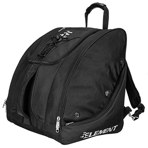 5th Element Bomber Boot Bag 2020 - Black-Silver