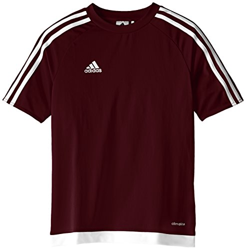 Soccer Jersey Football Shirt (adidas Youth Soccer Estro Jersey, Maroon/White, X-Large)
