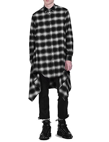 43b2d24eea1 COOFANDY Mens Fashion Casual Long Sleeves Hipster Hip Hop Button up Plaid  Long Shirt. Tap to expand