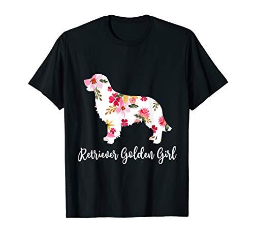 Retrievers Golden Girl Funny Golden Dog Lovers Shirt Gift ()