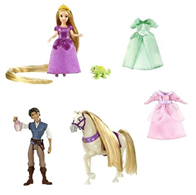 Disney Tangled Rapunzel Deluxe Story Bag by Mattel