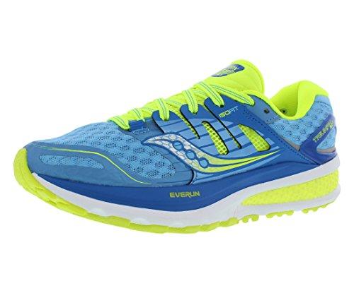 Saucony Women's Triumph ISO 2 Running Shoe, Blue/Light Blue, 5.5 M US