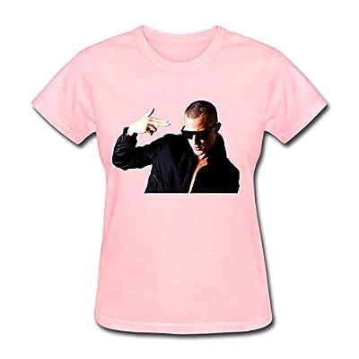 HAOJIA Women's Cool DJ Snake T-shirt XL Pink