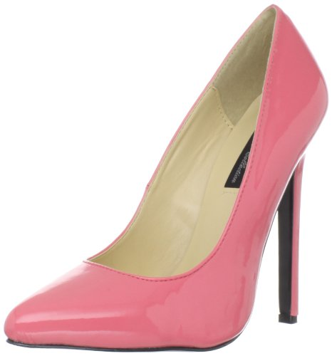 Highest Hottie Coral Women's The Stiletto Patent Heel TqAR4H