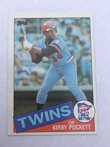 1985 Topps Kirby Puckett #536 Rookie Card Authentic Original ()