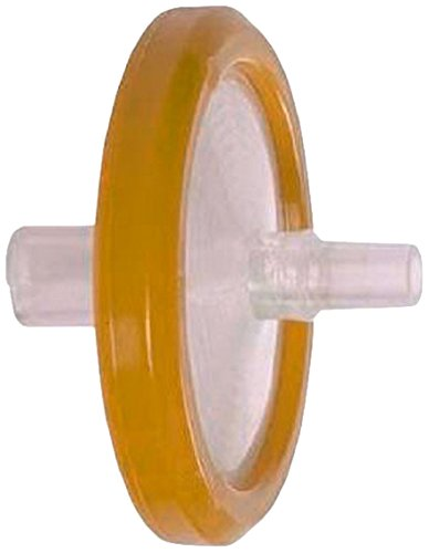 GS-Tek SPV2522 PVDF Syringe Filters with Luer Lock, 0.22um, 25mm Diameter (Pack of 100) by Gs-Tek