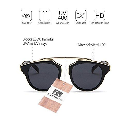 Aoligei Lunettes de soleil femmes version coréenne décoratifs tendance lunettes de soleil lunettes de soleil style élégant européen et américain Fashion mkSPDDT