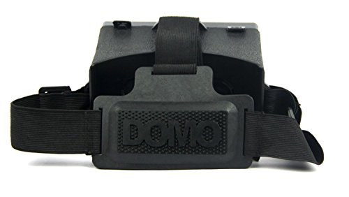 DOMO nHance ST4 Head Strap for Google Cardboard VR Virtual Reality 3D Glasses – Detachable Belt and Adjustable Elastic Head Band Mount with tension locks