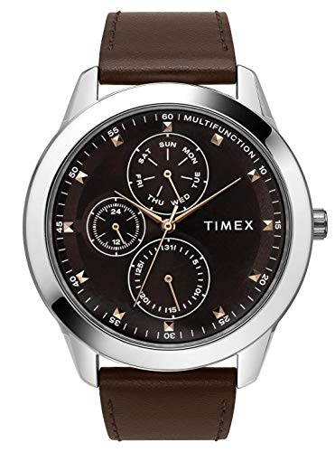 Timex Analog Brown Dial Men's Watch TWEG18501