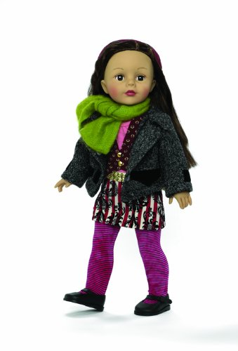 Madame Alexander Mixed Prints 18 Doll, Favorite Friends Collection by Madame Alexander 67520
