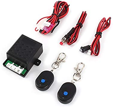 Motorcycle RF Car Immobilizer Anti Theft Relay Electronic Concealed Lock Burglar Alarm Car Electronics Felix-Box
