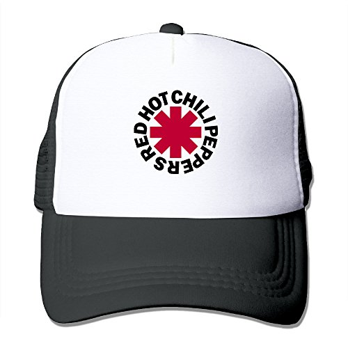 Red Hot Chili Peppers Vintage Art Logo Fashion Hip Hop Mesh Baseball Hats (Red Hot Chili Peppers Hats)