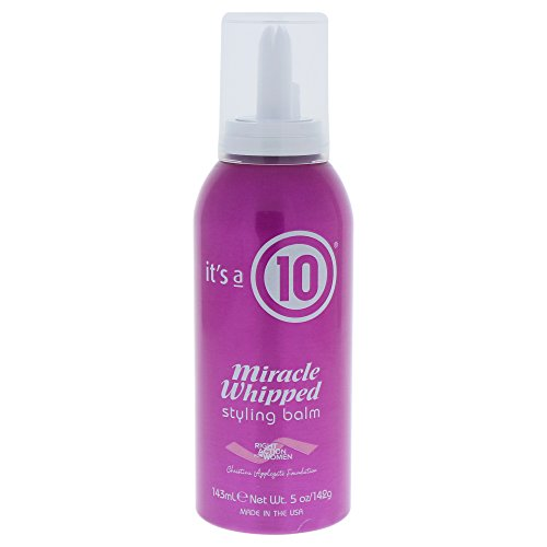 It's a 10 Haircare Miracle Whipped Styling Balm, 5 fl. oz. (Miracle Mousse Styling 10 Its A)