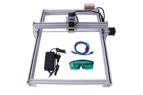 SUNWIN 40X50CM 12V USB Desktop Laser Cutting/Engraving Machine DIY Logo Picture Marking (500MW) by Sunwin