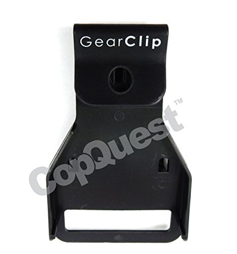 GearClip Duty Belt Hanger - All Leather Belts with Metal Buckles