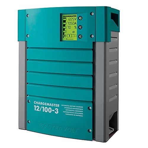 Mastervolt Chargemaster 100 Amp Battery Charger 3 Bank 12V by MASTERVOLT