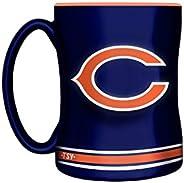 NFL Chicago Bears Sculpted Mug, 14-Ounce