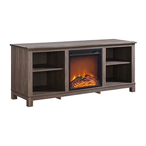 Altra Furniture Altra Edgewood TV Console with Fireplace for Tvsup To 60