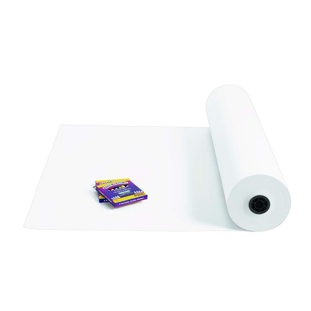 "American Paper 4036 36"" White 40 lb. Butcher Paper Roll"