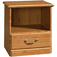 Sauder Orchard Hills Night Stand, Carolina Oak Finish