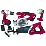 Chicago Electric 18 Volt Cordless 4 Tool Combo Pack