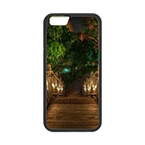 Wooden Bridge IPhone 6 Plus Case, Case for Iphone 6 Plus for Women Hardshell Evekiss - Black