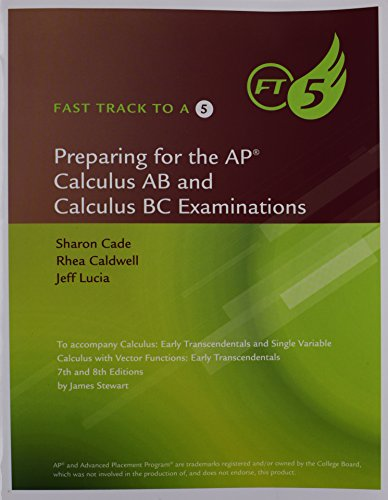 Download fast track to a 5 ap test preparation workbook for stewarts download fast track to a 5 ap test preparation workbook for stewarts calculus early transcendentals 8th book pdf audio idceivmmx fandeluxe Images