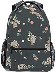 XYXK Backpacks School Bookbags Casual Daypack Travel Outdoor Backpack for Boys Girls Womens Mens Teenage Koala