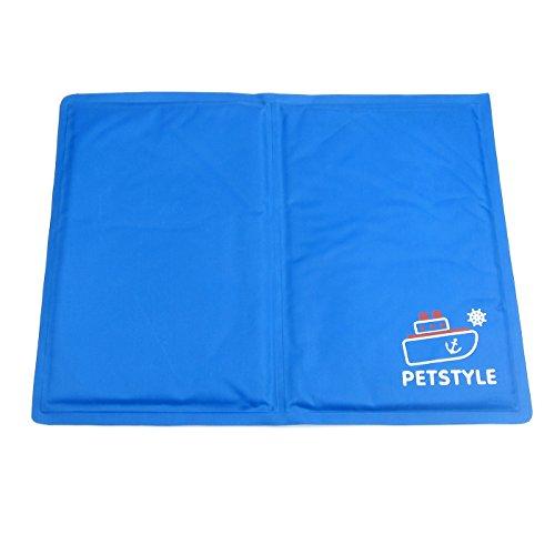 Alfie Pet by Petoga Couture - Carly Pet Cooling Mat - Color: Blue, Size: Medium