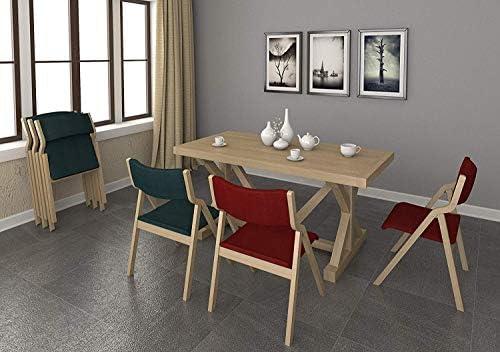 HELIn Meubles chaises de bureau en bois chaises pliables for la maison et les bureaux utilisent